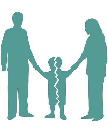 Divorciarse cuando existen hijos
